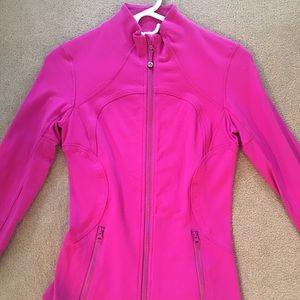 Lululemon fuchsia jacket